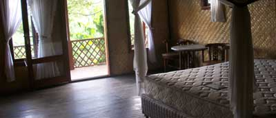 A room at Ijen Resto and Guesthouse near Ijen crater lake