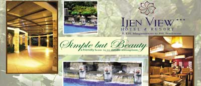 Photo compilation Ijen View Hotel and Resort in Bondowoso, East Java