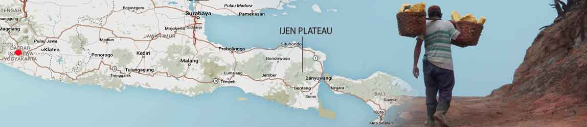 Start your tour to Ijen Plateau in Yogyakarta - Central Java, Indonesia